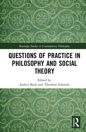 "Billede af bogen ""Questions of practice in philosophy and social theory"""